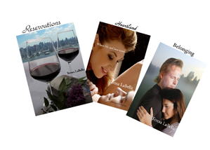 The three novels in the New Life in Love series, Reservations, Heartland and Belonging